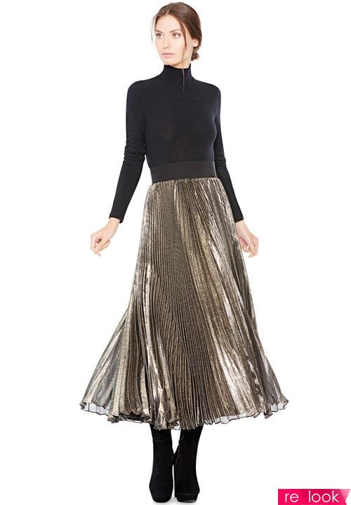 плисированные юбки 2018